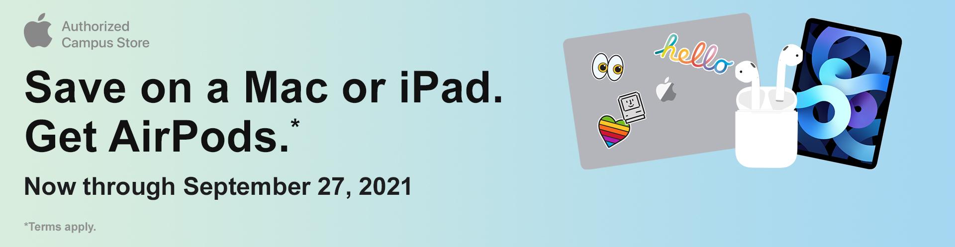 Shop Macs and iPads