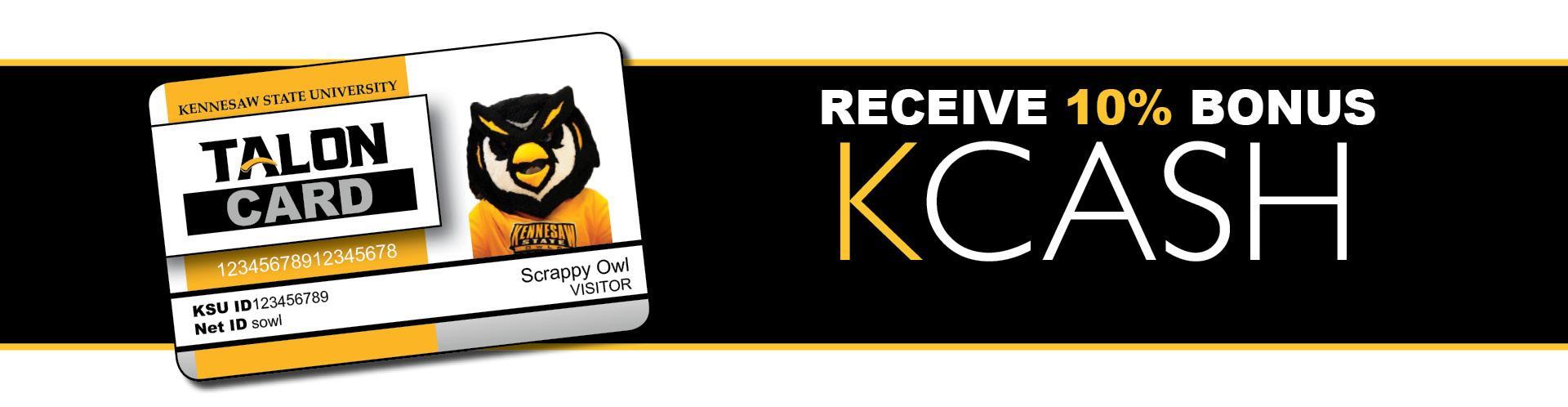 Receive a 10% bonus when you deposit KCash!