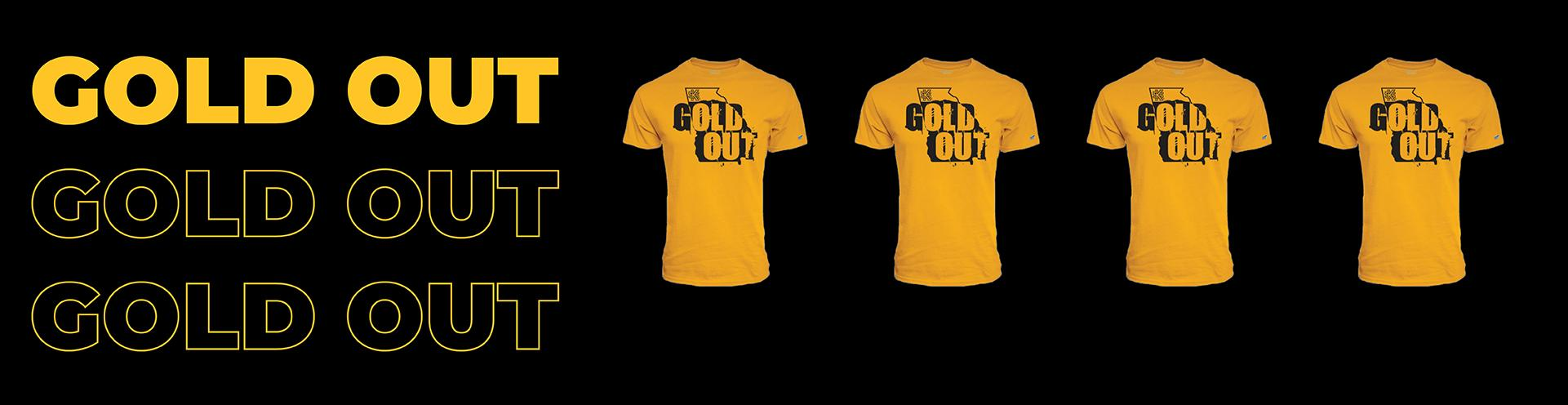 Official Gold Out T-Shirt