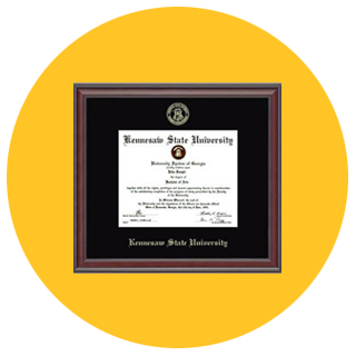 Click here to order a diploma frame.